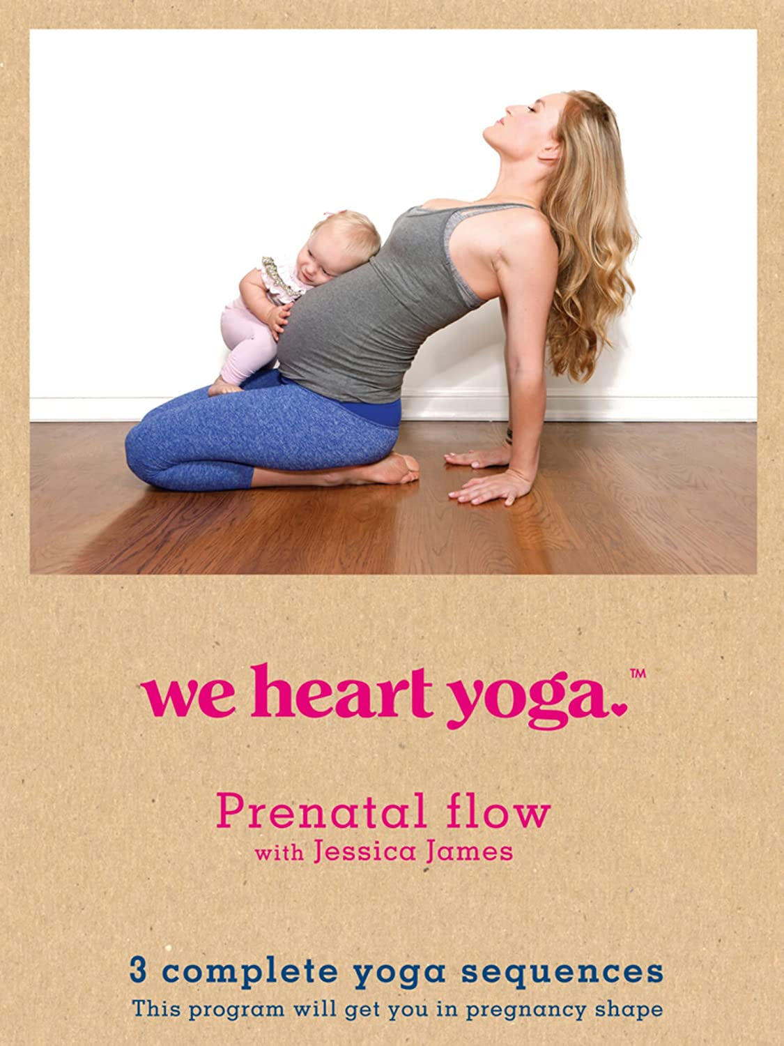 Amazon.com: We Heart Yoga Prenatal Flow with Jessica James ...