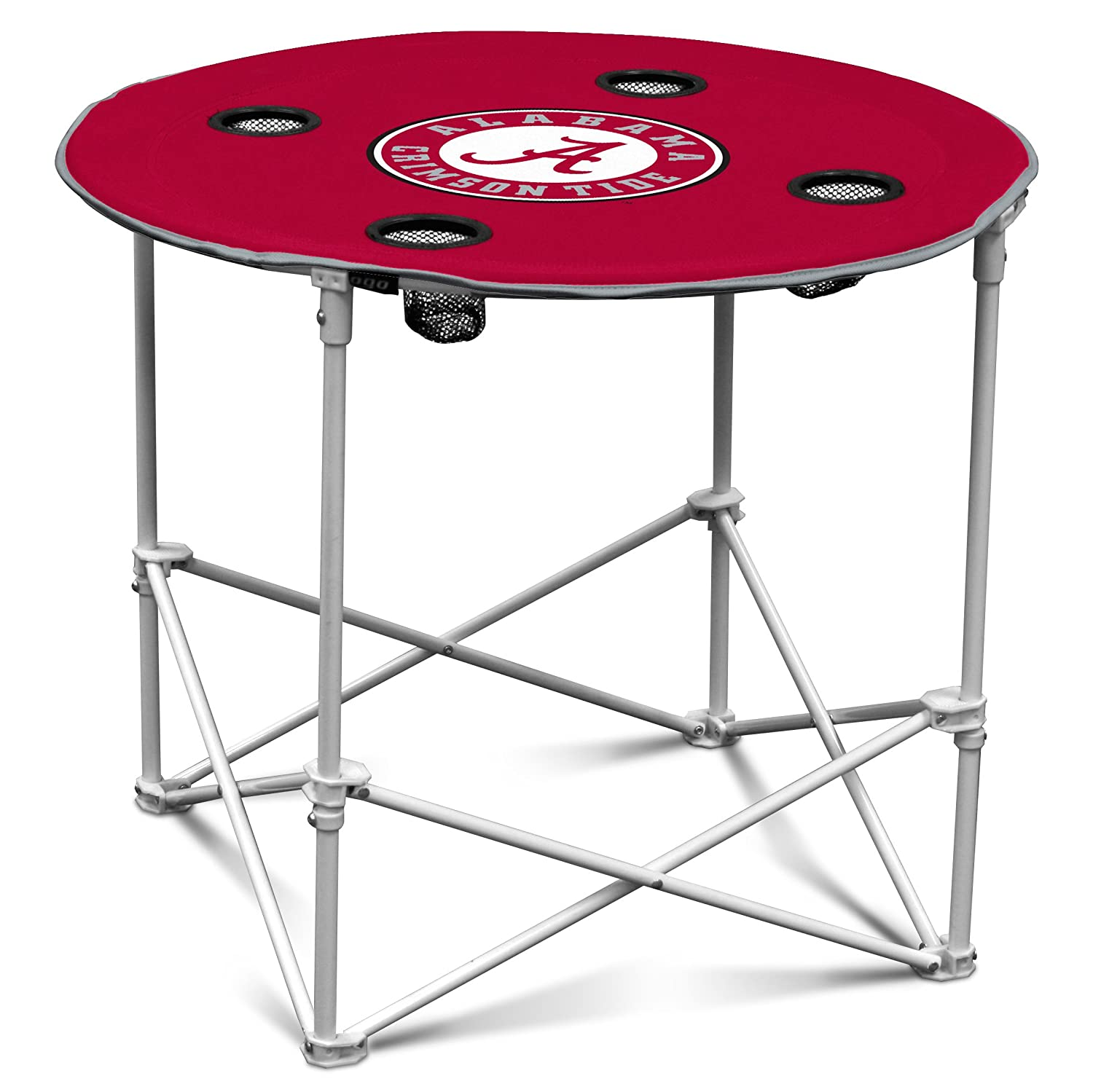 Amazon.com : TCU Horned Frogs Collapsible Round Table With 4 Cup Holders  And Carry Bag : Sports Fan Tables : Sports U0026 Outdoors