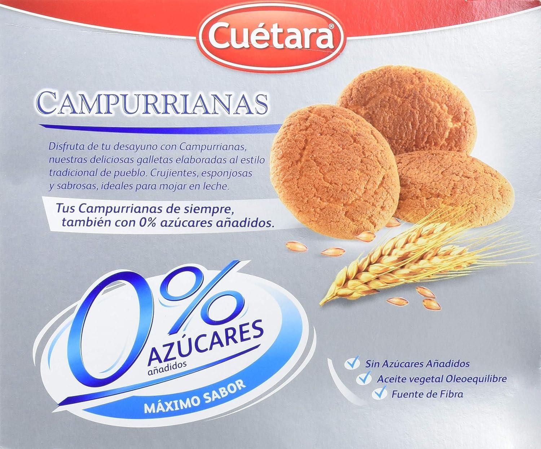 Campurrianas Caja de Galletas sin Azúcar - 400 gr: Amazon.es: Amazon Pantry