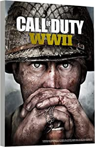 "Call of Duty Poster: WWII Wall Art Set - Mounted Call of Duty Print (8""x11"") (Call of Duty Room Decor)"