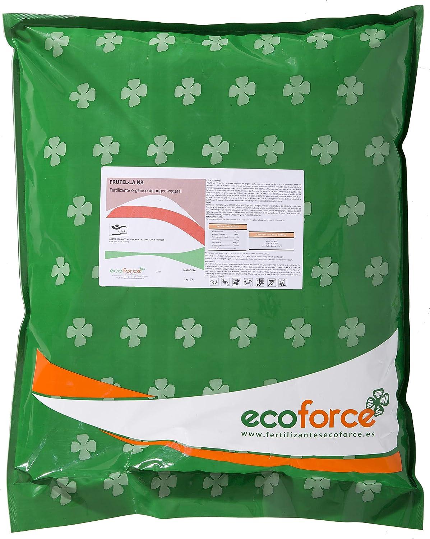 CULTIVERS Abono - Fertilizante Ecológico Universal Naranjos y Limoneros de 5 kg, granulado con NPK 8-1-5+74% M.O. y Ác. Húmicos. Liberación Lenta. Potencia el Crecimiento. FRUTELLA