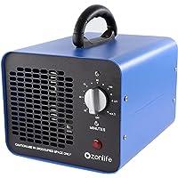 Commerciële ozongenerator, 10.000 mg/u Industriële ozonluchtreiniger, 220V ozonapparaat met timer voor kamers, rook…