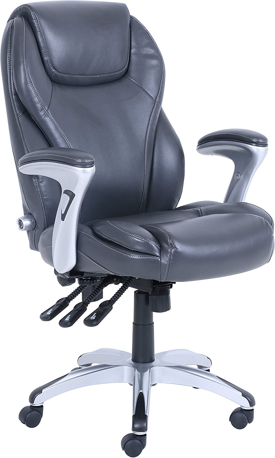Serta Ergo Executive Office Chair, Gray