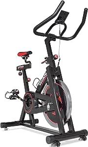 Titan ejercicios de fitness bicicleta w/40 lb Volante pantalla LCD ...