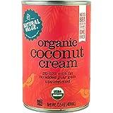 Natural Value Organic Coconut Cream, 13.5oz (Pack of 12)