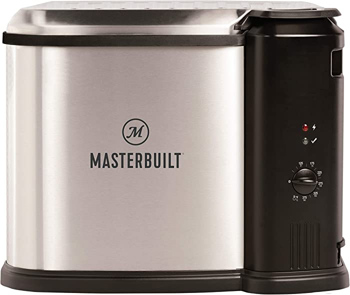 Masterbuilt MB20012420 Electric Fryer, Boiler, Steamer, Stainless Steel