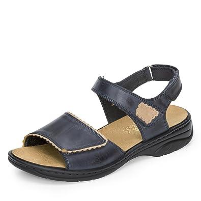 Rieker Damen Sandalette Pantolette