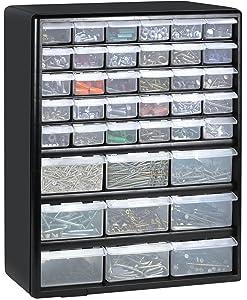 Greenpro 3309 Wall Mount Hardware and Craft Storage Cabinet Drawer Organizer