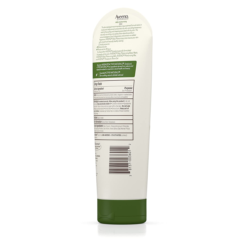 amazon com aveeno daily moisturizing lotion to relieve dry skin