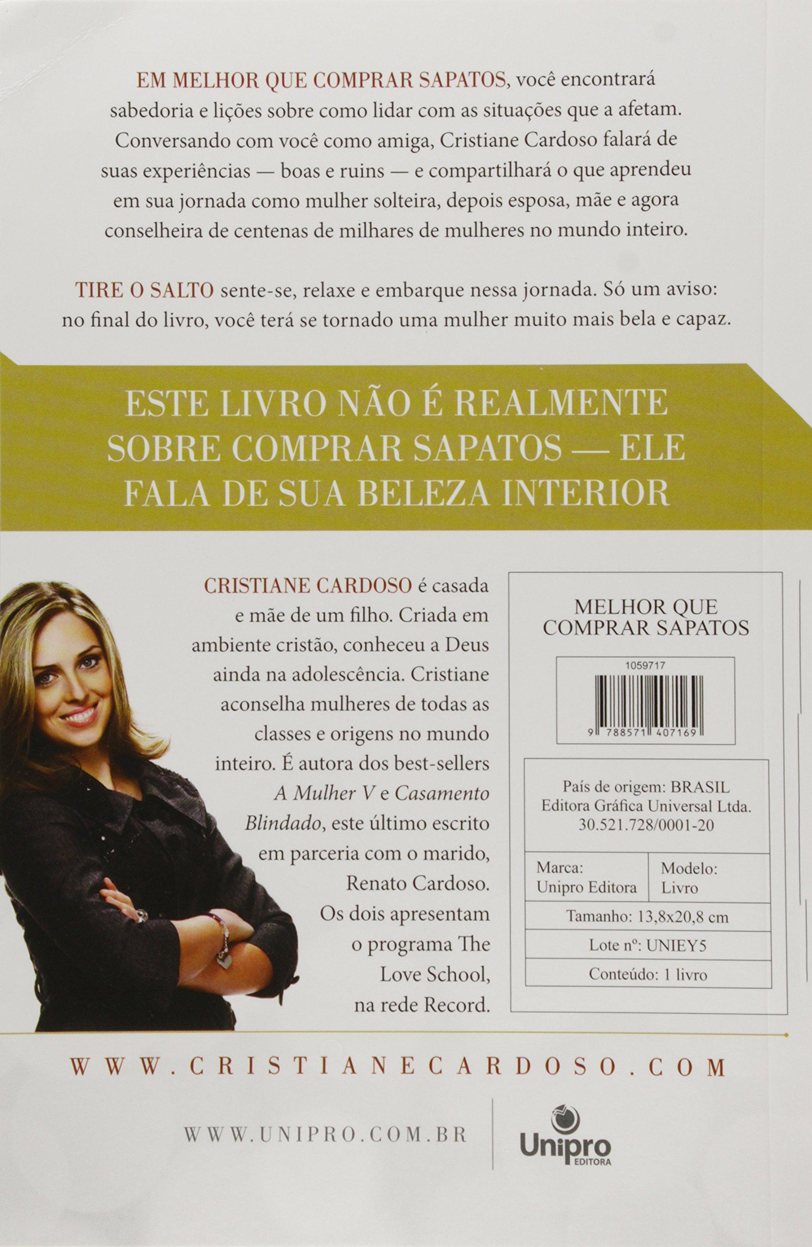 7c4f7e4cb3da0 Melhor que Comprar Sapatos - 9788571407169 - Livros na Amazon Brasil