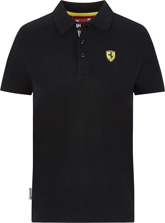 Ferrari Scuderia F1 Kids Classic Polo Black//Red