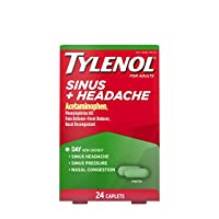 Tylenol Sinus + Headache Non-Drowsy Daytime Caplets with Acetaminophen & Phenylephrine...