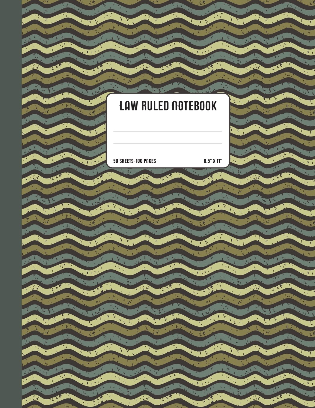 """Download Law Ruled Notebook: College Ruled Composition Book with Wide Margin (3"""" from the left edge of the paper) Soft Cover Letter Size 8.5"""" x 11"""" (21.59 x 27.94 cm) 50 Sheets/100 Pages for Taking Notes PDF"""