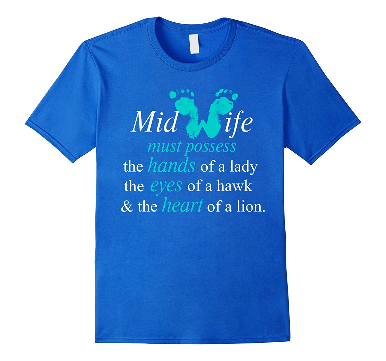 MidWife T-shirt, Midwife funny shirt-Rose
