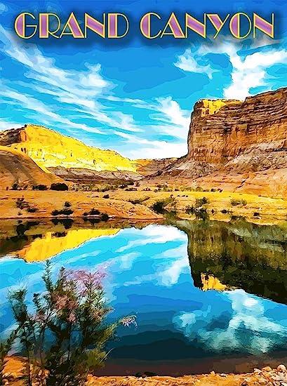 Grand Canyon National Park Arizona United States Travel Advertisement Poster 6