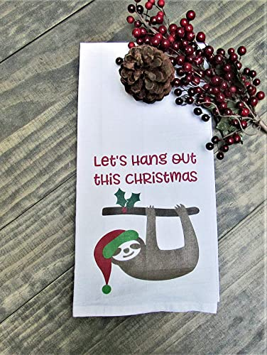 Amazon Com Funny Christmas Kitchen Towel Tea Towel Christmas Gift