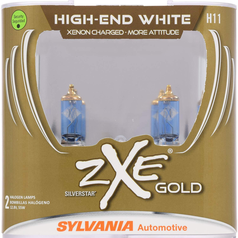 SYLVANIA H11SilverStar zXe GOLD Halogen Headlight Bulb (Contains 2 Bulbs)