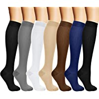 arteesol Compressie sokken voor dames en heren, compressiekousen vluchtsokken voor dames dames heren, kalf…