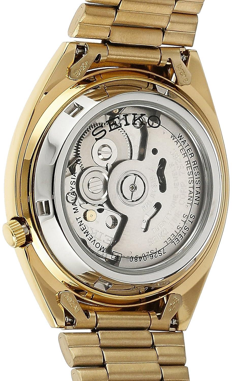 Seiko Reloj Analógico Automático para Hombre con Correa de Acero Inoxidable - SNXL72: Seiko: Amazon.es: Relojes