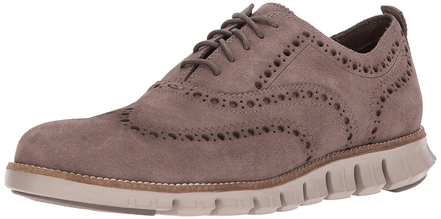 Toadrock Suede Cobblestone Cole Haan Men's Zerogrand OX Outlet Excl Closed II Oxford