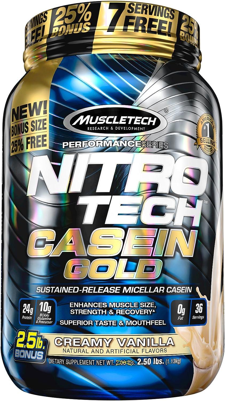 Muscletech Performance Series Nitro Tech Casein Gold Creamy ...