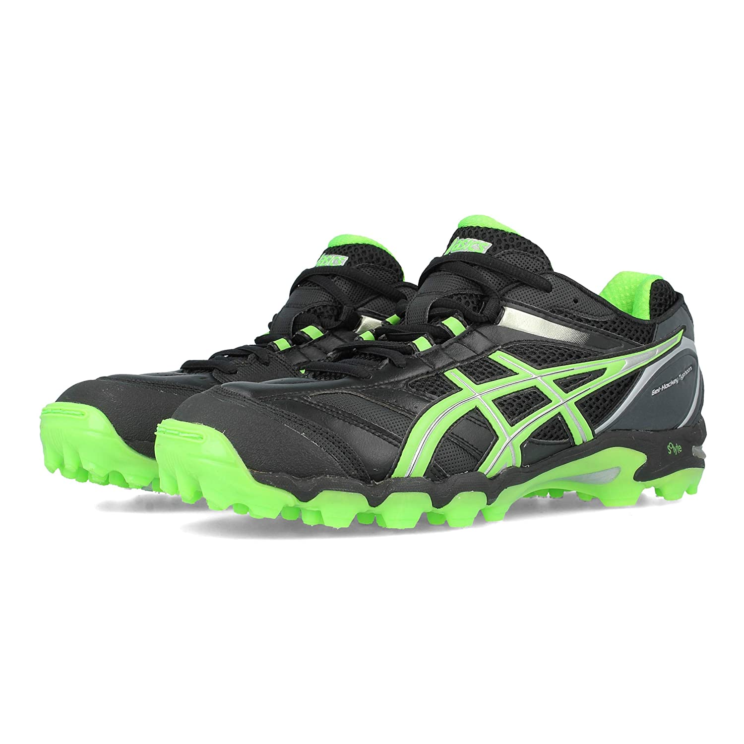 Asics Gel-Hockey Typhoon Black / Green