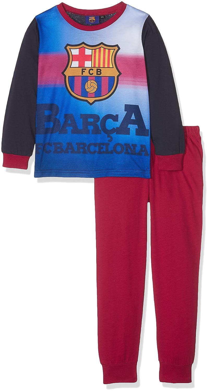 FCB Boys Barcelona PJ, Conjuntos de Pijama para Niños (Pack de 2): Amazon.es: Ropa y accesorios
