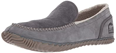 Sorel Mens Sorel Dude Moc Slipper, Quarry, Dark Grey, ...