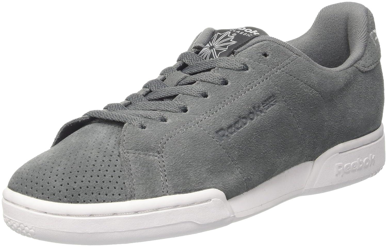 Reebok Herren NPC Ii S Sneakers, Grau  40 EU|Grau (Alloy/White)