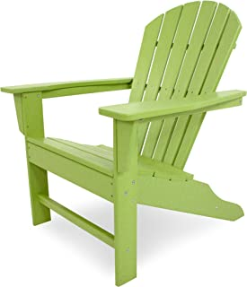 product image for POLYWOOD SBA15LI South Beach Adirondack Chair, Lime