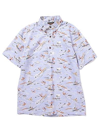 Dale Hope Hawaiian Shirt 11-01-0508-304: Saxe