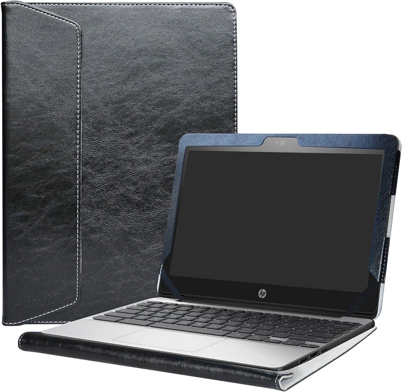 "Alapmk Protective Case for 11.6"" HP Chromebook 11 G5/HP Chromebook 11 11-vXXX & Lenovo IdeaPad 3 CB 11IGL05/Lenovo Chromebook 3 11 Laptop(Not fit HP Chromebook 11 G8 EE/G7 EE/G6 EE/G5 EE/G4),Black"