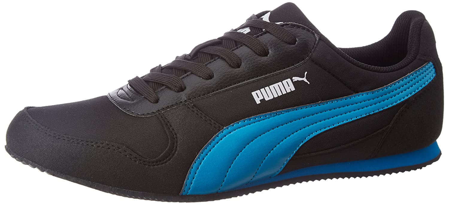 cbbdf73cfcf Puma Men s Superior Dp Puma Black and Blue Danube Sneakers - 11 UK India  (46 EU)  Buy Online at Low Prices in India - Amazon.in
