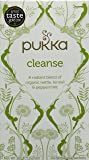 Pukka Cleanse, Organic Herbal Tea with Fennel & Peppermint (4 Pack, 80 Tea bags)