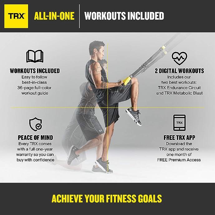 金盒特价 TRX ALL-IN-ONE 多合一全能型健身训练器套装 6.5折$94.95史低 海淘转运到手约¥761