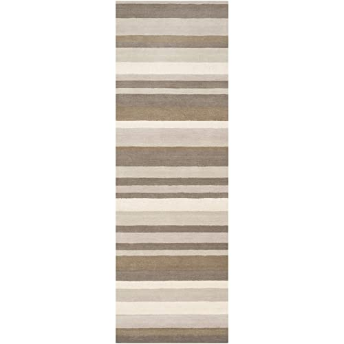 Surya MDS-1010 Madison Square Brindle 2-Feet 6-Inch by 8-Feet Area Rug