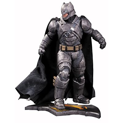DC Collectibles BatmanvsSuperman: Dawn of Justice Armored Batman Statue: Toys & Games