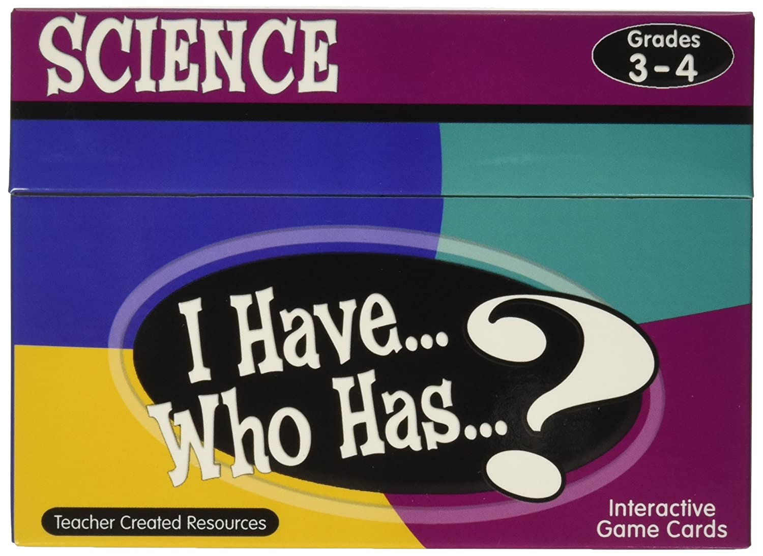 Teacher Created Resources I Have Who Has Science Card Teacher Created Resources OS 7857