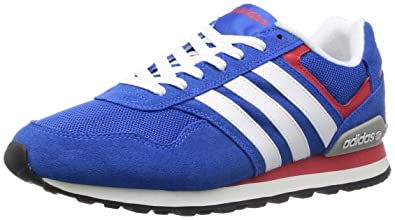 Adidas Runeo 10K satell/runwht/colored Gr. 40 2/3