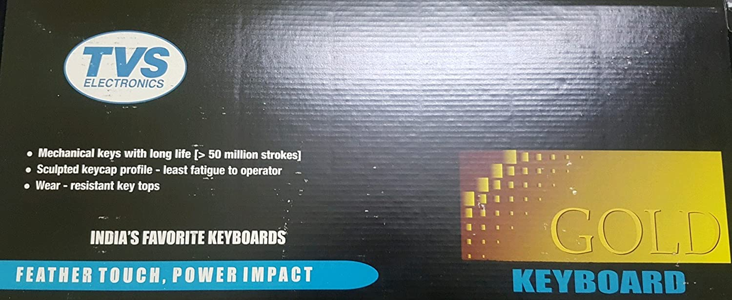 Amazon.in: Buy TVS GOLD Ps2 Bharat wired keyboard Online at Low ...