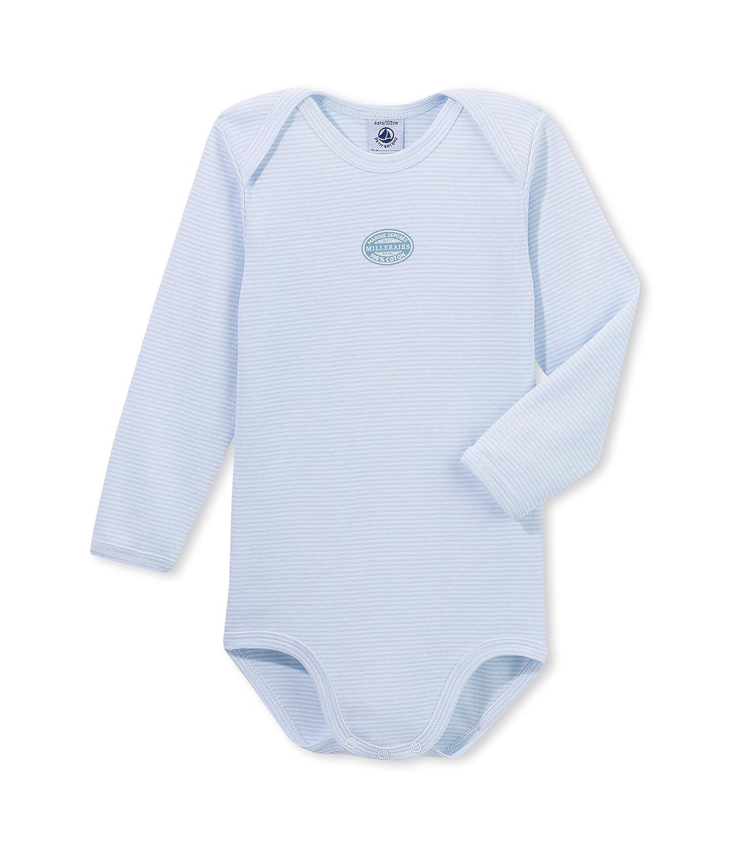 Petit Bateau Baby - Jungen Body ML CR Miller
