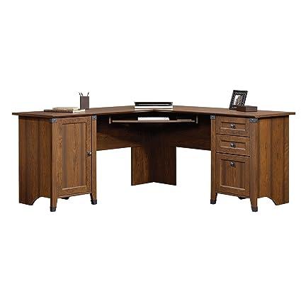 Attrayant Sauder 416969 Carson Forge Corner Computer Desk, Washington Cherry