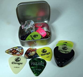 Puas para guitarra - 20 Puas (Picks) Para Guitarra Acústica ...