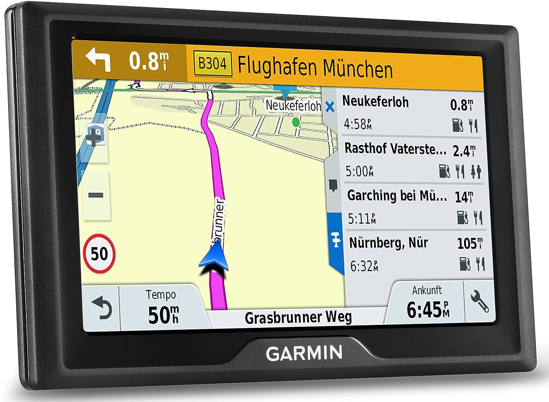 Garmin Drive 40 LMT CE Navigationsgerä t - lebenslange Kartenupdates, Premium Verkehrsfunklizenz, 4,3 Zoll (10,9cm) Touchscreen 010-01956-21