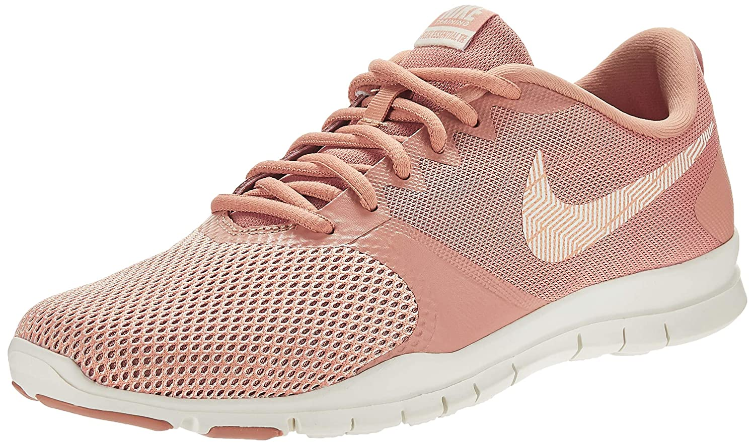 MultiCouleure (Rose or Sail Guava Ice Mtlc rouge Bronze 000) Nike WMNS Flex Essential TR, Chaussures de Fitness Femme 36.5 EU