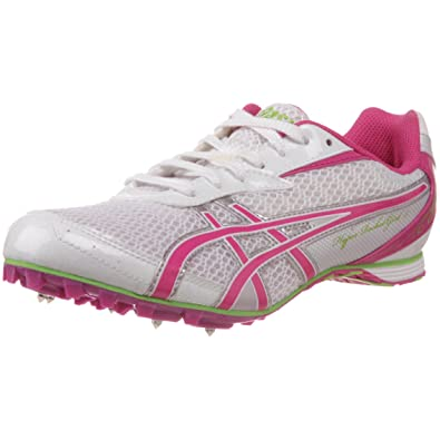 ad45afab787bb ASICS Womens HyperRocketgirl 5 Track And Field ShoeWhiteFuschiaApple