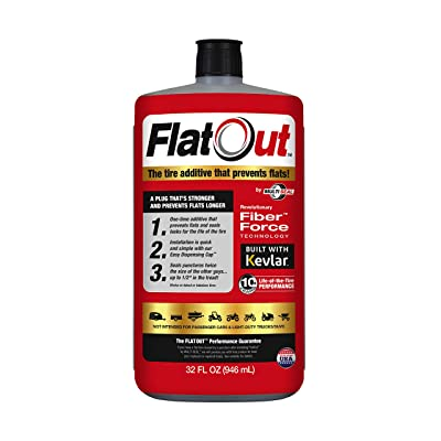 MULTI SEAL 20110 FlatOut Tire Additive (Multi-Purpose Formula), for Boat Trailers, ATV/UTVs, Golf Carts, Dirt Bikes, Riding Lawn Mowers, Snow Blowers and more, 32. fluid_ounces: Automotive