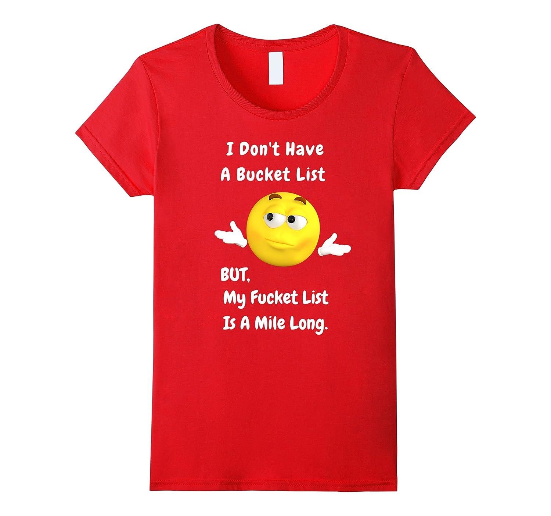 BUCKET Funny Graphic T Shirt Black-Awarplus