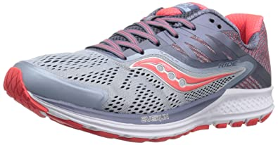 Saucony Women Running Shoes Hurricane ISO 4 Grey Aqua