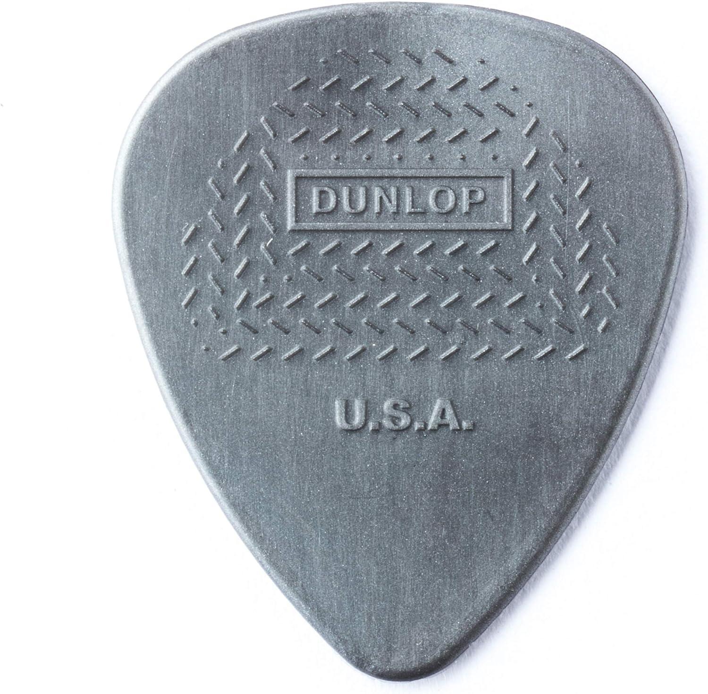 Dunlop 449P.88 Max-Grip Nylon Standard, Dark Gray, .88mm, 12/Player's Pack
